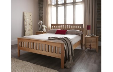 Wessex Solid Oak 4ft Small Double Bed Frame