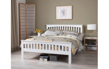 Adele 5ft White Bed Frame