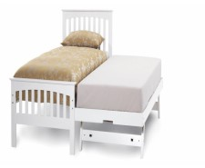 Adele 3ft White Guest Bed