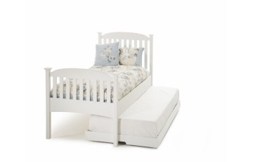 Eleanor Guest Bed High End - White