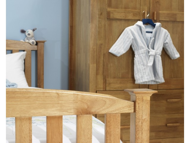 Eleanor Guest Bed High End - Oak