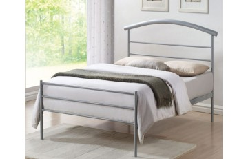 Belize Metal 4ft6 Bed Frame - Next Day Delivery