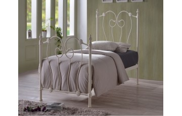 COMBO DEAL - Inca Metal 3ft Bed Frame - Next Day Delivery - Choice of mattress