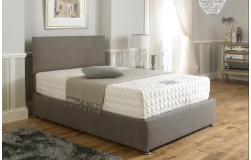 Yasmin Upholstered 4ft Small Double Size Bed Frame