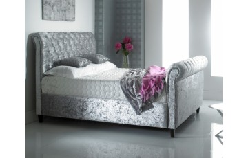 Chesterfield 3ft SIngle Upholstered Bed Frame