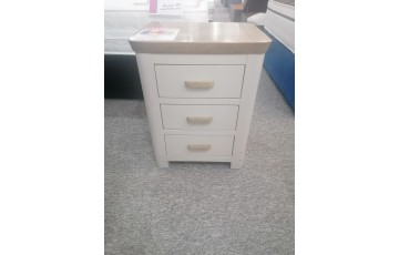 Clearance - Tamworth 3 Drawer Bedside Table